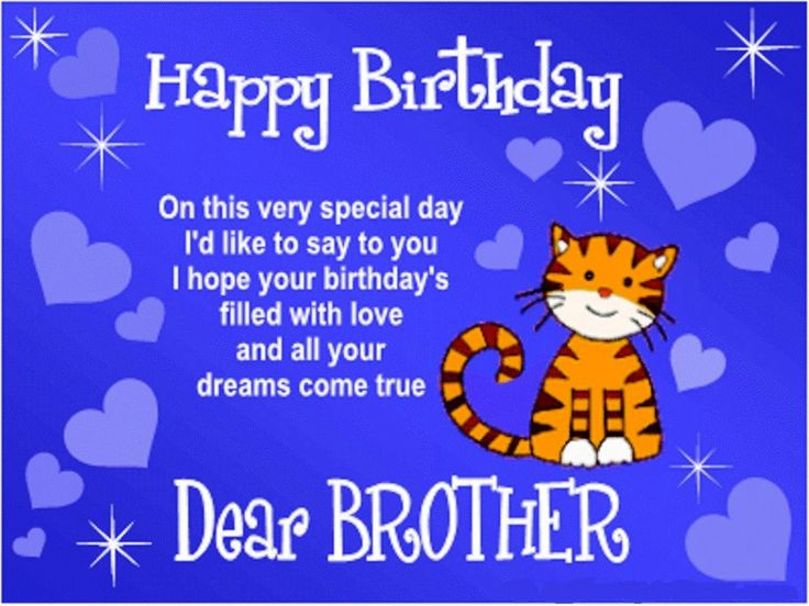 Description Birthday Wishes For Brother