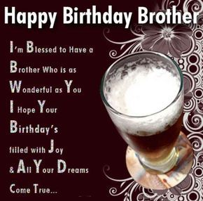 Happy birthday to my brother images and quotes