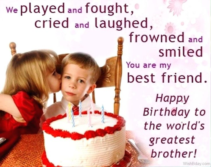 Images of happy birthday younger brother