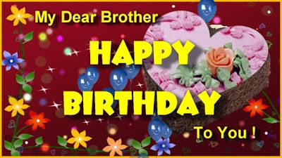 Happy Birthday Brother Birthday Wishes For Cousin Brother Www