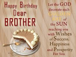 Happy Birthday Brother Wishes For On Facebook Wall