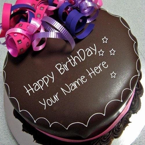 Happy Birthday Wiches : Happy Birthday Chocolate Cake With