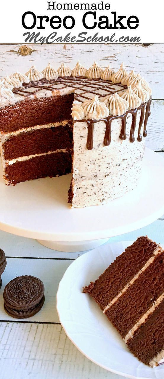 Magnificent Birthday Cake The Best Oreo Cake Recipe By Mycakeschool Com Funny Birthday Cards Online Overcheapnameinfo