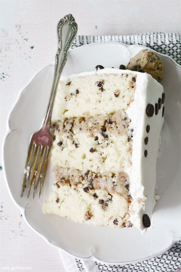 Description Chocolate Chip Cookie Dough Cake