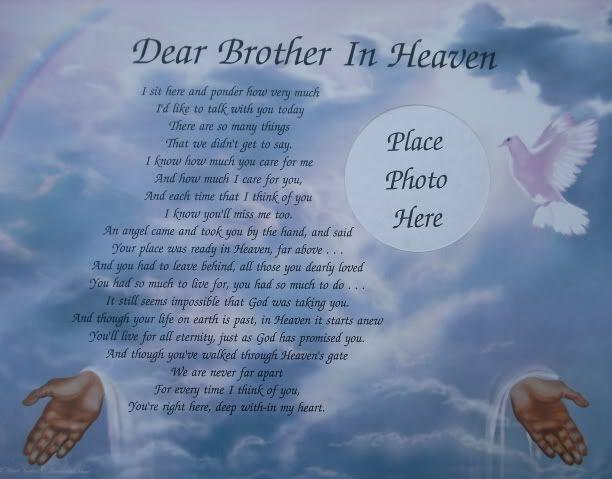Happy Birthday Brother : Happy Birthday Brother In Heaven ...