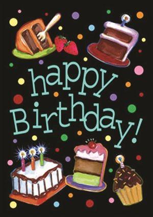 Happy Birthday Brother : Happy Birthday Cake House Flag