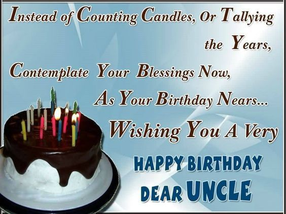 Happy Birthday Brother Happy Birthday Uncle Wishes Images And