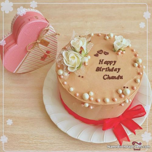 Happy Birthday Brother : The name [chandu] is generated on