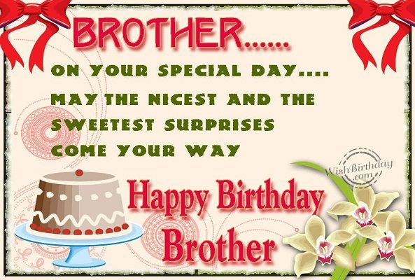 Happy Birthday Brother Happy Birthday To My Brother Mike Top