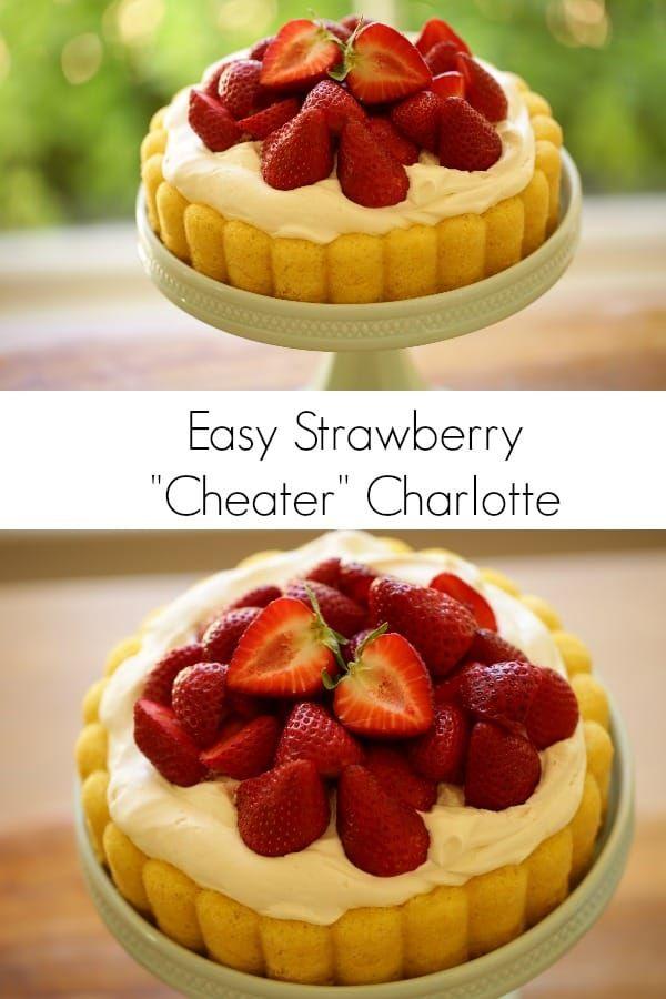 Pleasant Birthday Cake Strawberry Shortcake Cheater Charlotte Personalised Birthday Cards Beptaeletsinfo