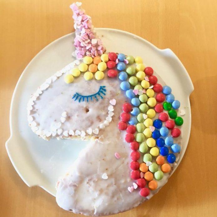 birthday inspiration einhornkuchen für faule diesen